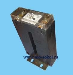 Трансформатор тока т-066 300/5 5ва класс точности 0,5 с шиной